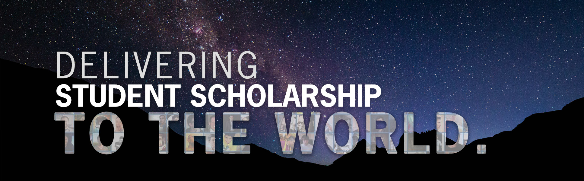 JournaQuest - Student Scholarship Delivered to the World